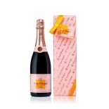 Kit Champagne Veuve Clicquot Rosé Ready To Offer 750 ml