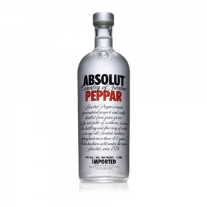 Vodka Absolut Peppar 1000 ml
