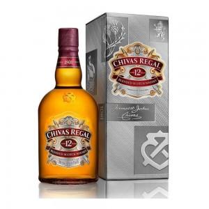 Whisky Chivas 12 Anos 1000 ml