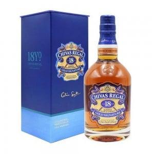 Whisky Chivas Regal 18 Anos 750 ml