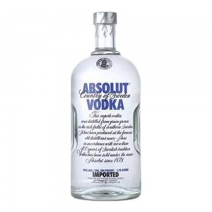 Vodka Absolut Natural 1750 ml