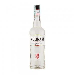 Licor Molinari Sambuca Extra 750 ml + Bônus 250 ml
