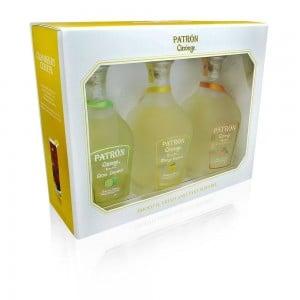Kit Tequila Patron Citrónge Kit 3X375 ml