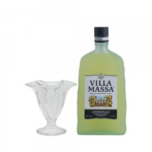 Kit Licor Villa Massa Limoncello 700 ml + Taça