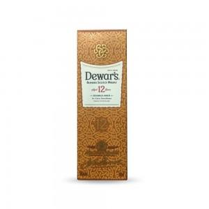 Whisky Dewars 12 Anos 200 ml com Caixa