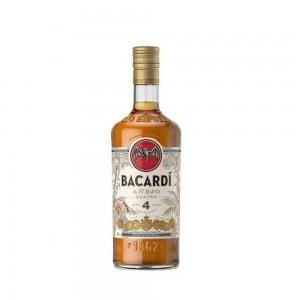 Rum Bacardi Anejo 4 Anos 1000 ml