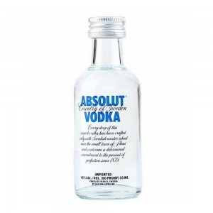Vodka Absolut Natural 50 ml