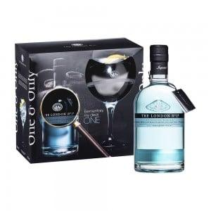 Kit Gin The London Nº 1750 ml com Taça