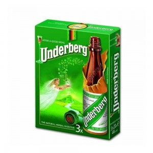 Kit Aperitivo Underberg Mini 20 ml Cx com 03
