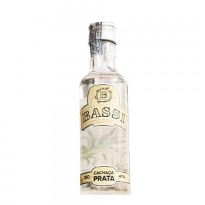 Cachaça Bassi Prata 250 ml