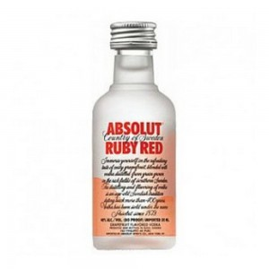 Vodka Absolut Ruby Red 50 ml