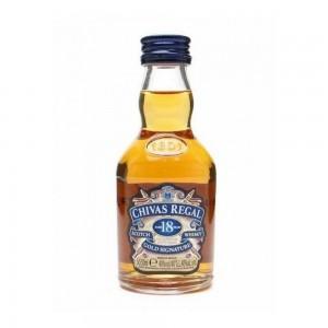 Whisky Chivas Regal 18 Anos Miniat 50 ml