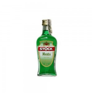 Licor Stock Creme Menta Mini 50 ml